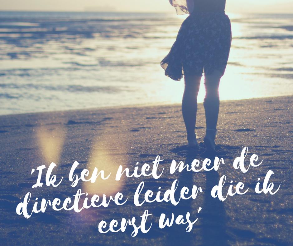Ik ben niet meer de directieve leider die ik eerst was Axis Consultancy nlp in bedrijf in Nederland