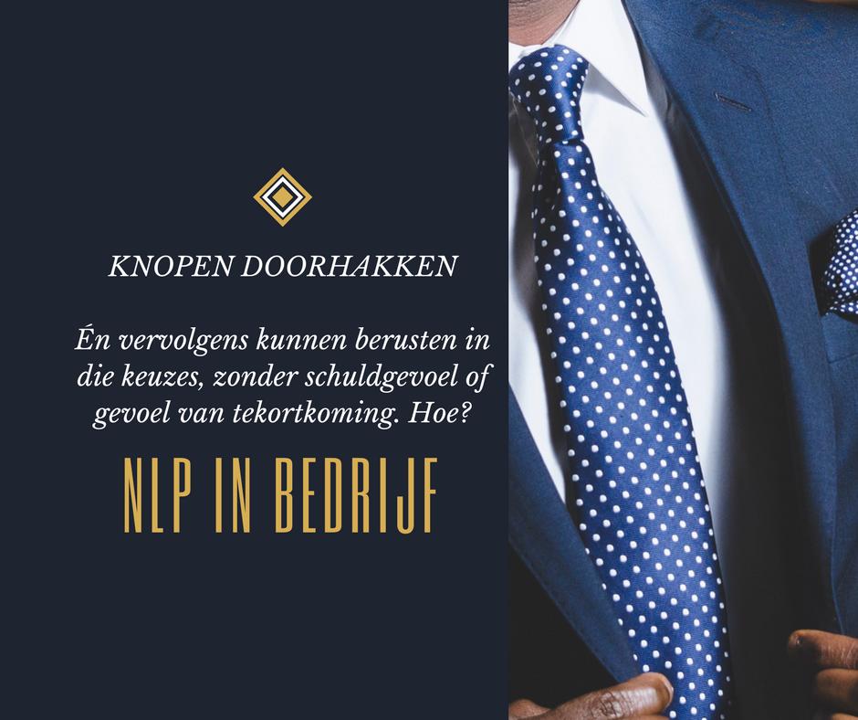 Knopen doorhakken Axis Consultancy nlp in bedrijf in nederland