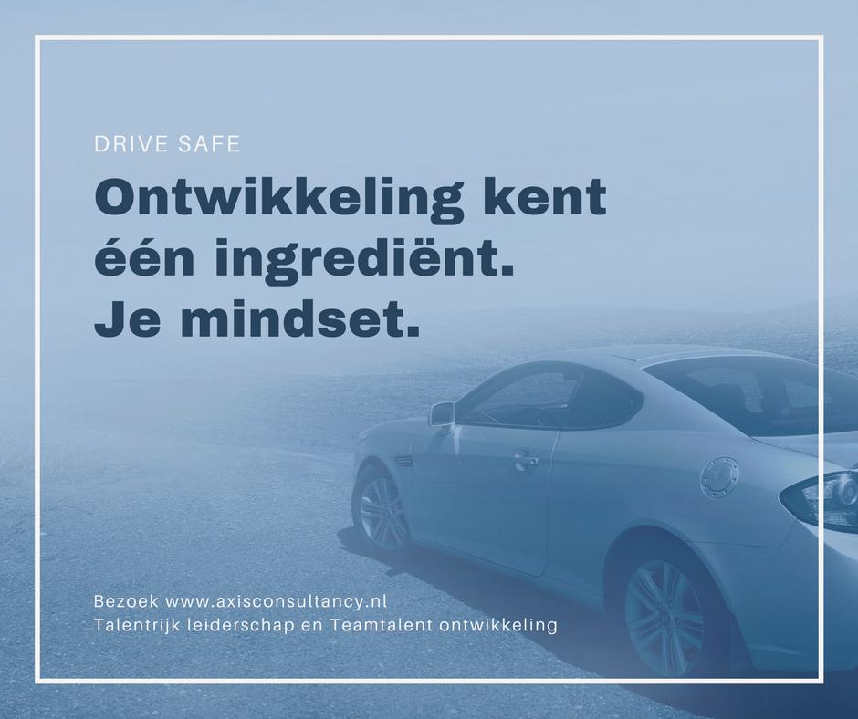 Ontwikkeling kent een ingredient je mindset Axis Consultancy nlp in bedrijf in Nederland