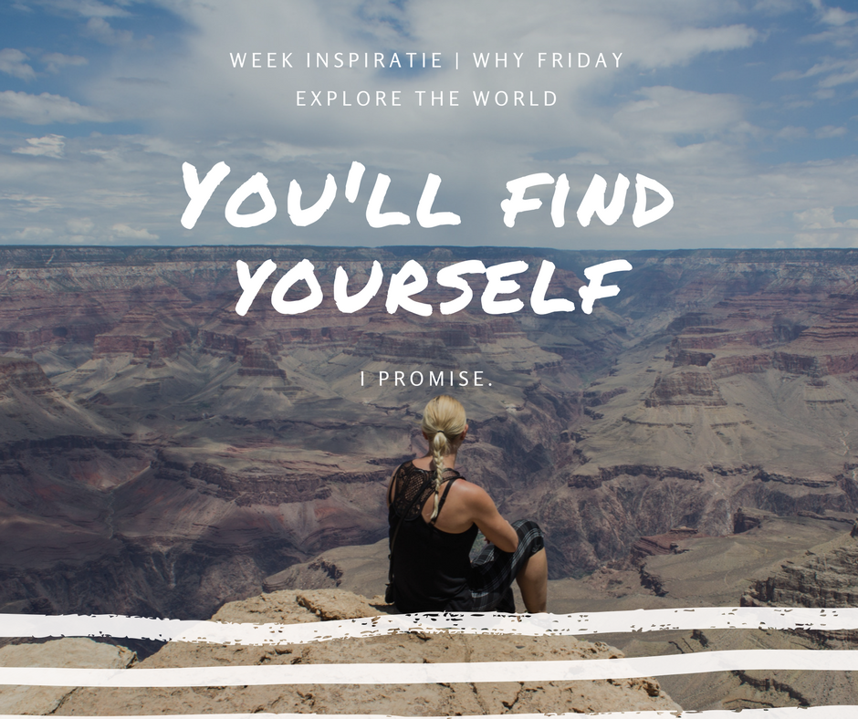 You'll find yourself